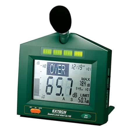 Máy đo độ ồn Extech SL 130W (có tín hiệu ra cảnh báo 2.5 VDC)