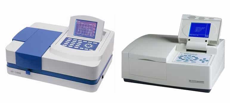 máy phan tích quang phổ