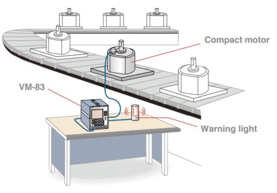 RION VM-83 General-Purpose Vibration Meter