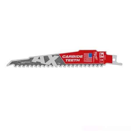 Lưỡi cưa kiếm gỗ Milwaukee AX Carbide T5-150.24mm