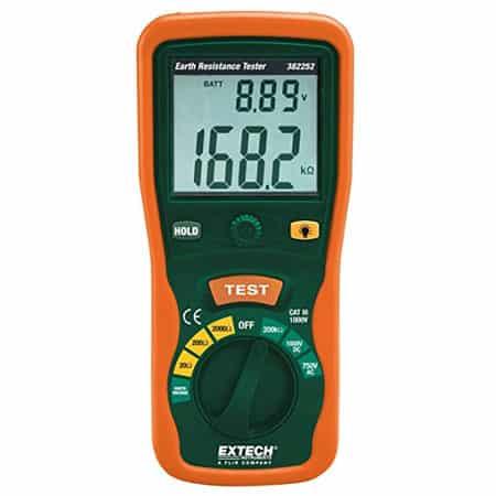 Máy đo điện trở đất Extech 382252