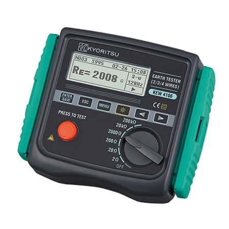 Máy đo điện trở đất Kyoritsu 4106