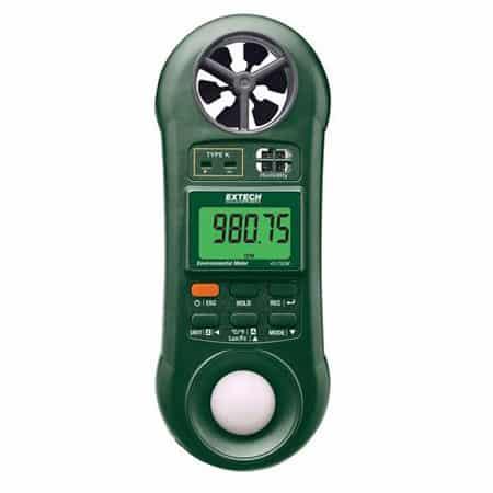 Máy đo nhiệt đô, độ ẩm, tốc độ gió, ánh sáng Extech 45170CM