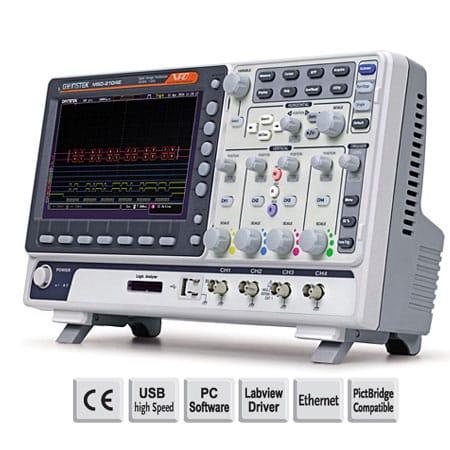 Máy hiện sóng kỹ thuật số GW Instek MSO-2102EA