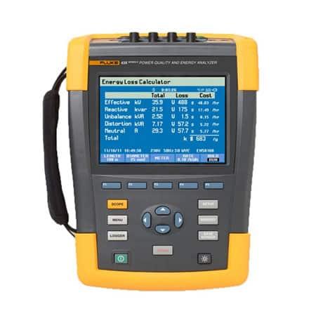 Máy phân tích chất lượng điện năng Fluke 435-II