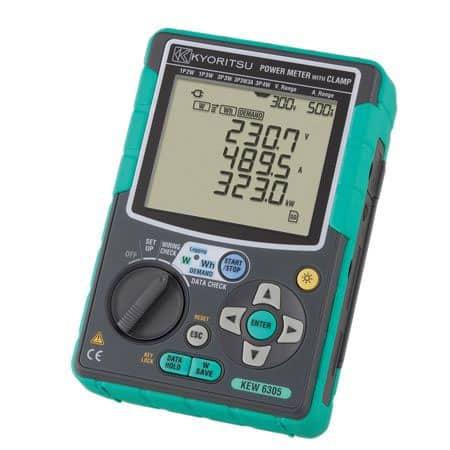 Máy phân tích công suất đa năng Kyoritsu 6305-00